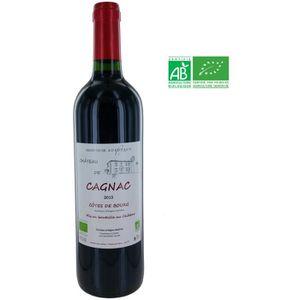 VIN ROUGE Château de Cagnac 2015 Côtes de Bourg - Vin rouge