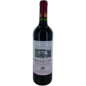 VIN ROUGE Château Cana 2015 Côtes de Bourg - Vin rouge de Bo