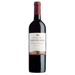 VIN ROUGE Domaine Crès Ricard 2017 Cabernet Sauvignon - Vin