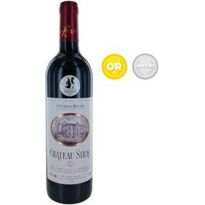 VIN ROUGE Château Sirac 2015 Côtes de Bourg - Vin rouge de B