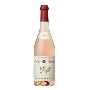 VIN ROSÉ La Vieille Ferme Côtes du Lubéron - Vin rosé de la