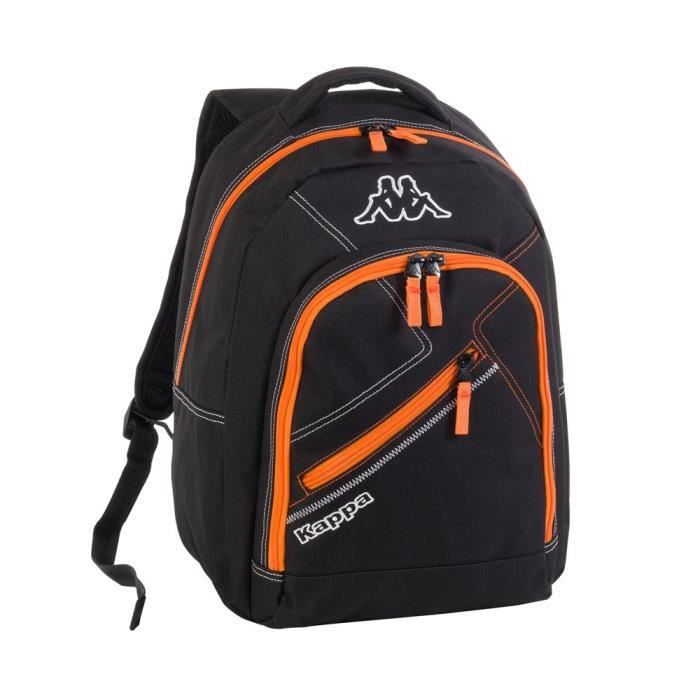 kappa sac dos ski classic enfant noir et orange achat vente sac dos kappa sac dos ski. Black Bedroom Furniture Sets. Home Design Ideas