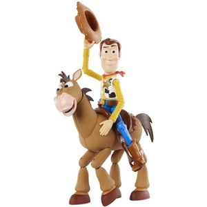 FIGURINE - PERSONNAGE TOY STORY 4 - Pack de 2 Figurines - Woody 23cm & P