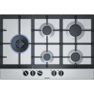 PLAQUE GAZ SIEMENS EC7A5SB90 Plaque de cuisson gaz - 5 foyers
