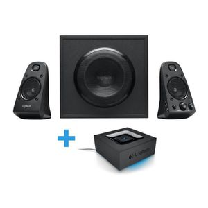 ENCEINTES ORDINATEUR LOGITECH Enceintes 2.1 Z623 + Adaptateur Audio Blu