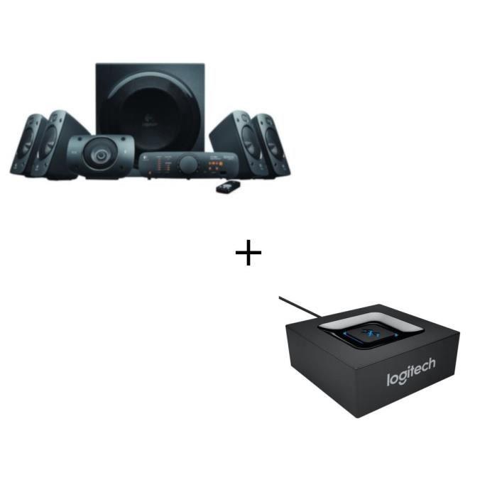 ENCEINTES ORDINATEUR LOGITECH Enceintes 5.1 Z906+ Adaptateur Audio Blu
