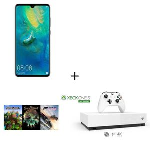 SMARTPHONE HUAWEI MATE 20 Noir 128 Go + Xbox One S All Digita