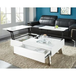 table basse achat vente table basse pas cher les soldes sur cdiscount cdiscount. Black Bedroom Furniture Sets. Home Design Ideas