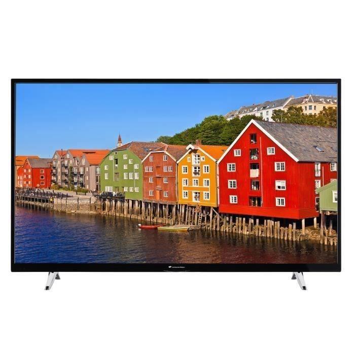 Téléviseur LED Continental Edison Smart TV 55' (139cm) 4KUHD WiFi