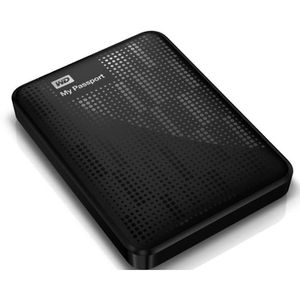 Comparer WESTERN DIGITAL MY PASSPORT WDBBEP0010BBK NOIR 1TO