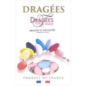 DRAGÉES DRAGEES DE FRANCE Dragées Avola Trèfles - Blanc, b