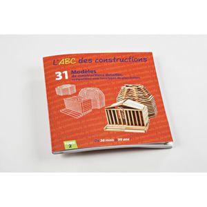 ASSEMBLAGE CONSTRUCTION MECABOIS - Livre modèles ABC des Constructions en