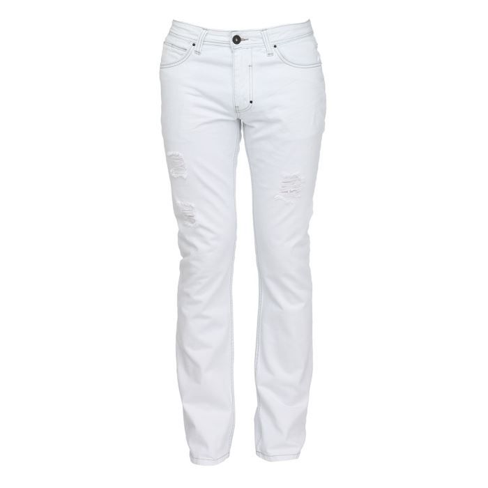 redskins jean regular homme blanc achat vente jeans. Black Bedroom Furniture Sets. Home Design Ideas