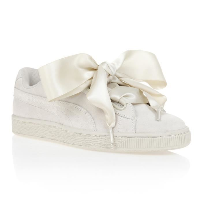 puma basket heart cdiscount