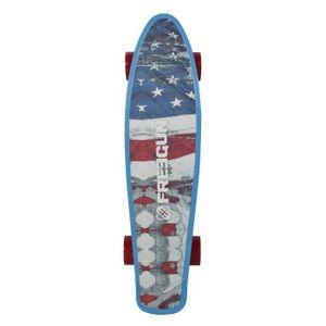 SKATEBOARD - LONGBOARD FREEGUN Skateboard vintage 57.5 cm BF - ABEC 5 - B