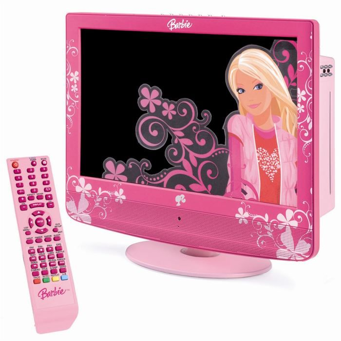 lexibook barbie combo tv dvd cran lcd achat vente lecteur dvd enfant cdiscount. Black Bedroom Furniture Sets. Home Design Ideas