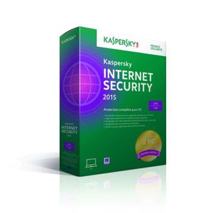 ANTIVIRUS Kaspersky Internet Security 2015 (2p/1an) Ed.Limi.
