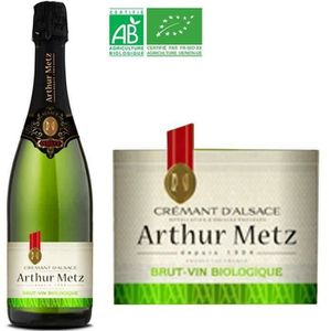 VIN BLANC Arthur Metz Bio Crémant d'Alsace AOP