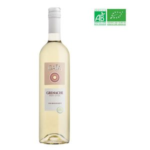 VIN BLANC Gaïa Pays d'Oc - Vin blanc du Languedoc - Bio