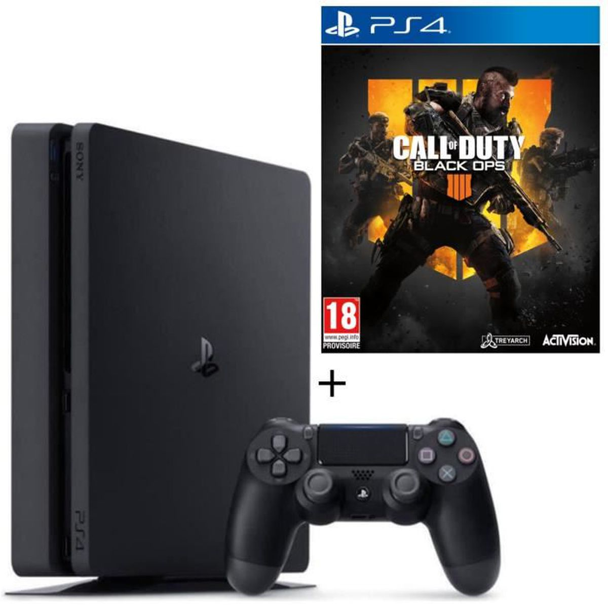 CONSOLE PS4 NOUVEAUTÉ Pack PS4 500 Go + Call of Duty Black Ops 4