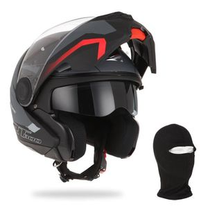 CASQUE MOTO SCOOTER ASTONE Casque Modulable RT800 Energy + cagoule - N
