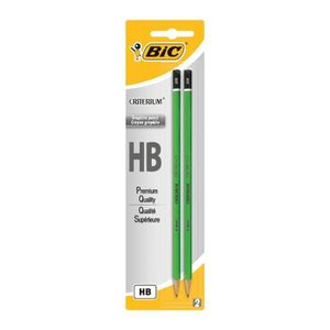 CRAYON GRAPHITE BIC Criterium 2 Crayons Graphites 550 HB