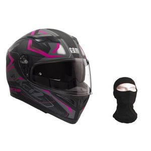 CASQUE MOTO SCOOTER CGM Casque intégral 316G Match2 + Cagoule - Homme