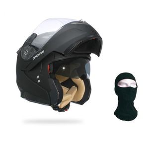 CASQUE MOTO SCOOTER STORMER Casque Modulable GROUND + Cagoule OFFERTE