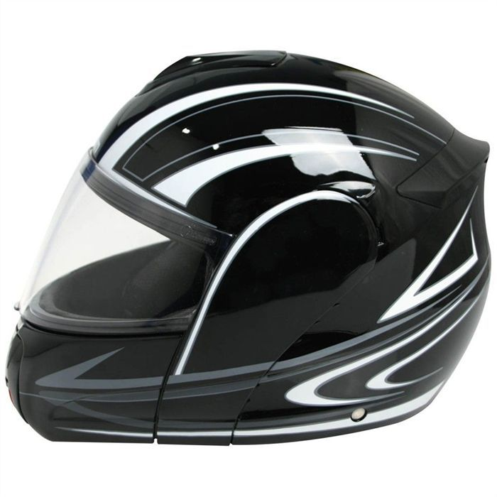aom casque int gral modulable achat vente casque moto. Black Bedroom Furniture Sets. Home Design Ideas