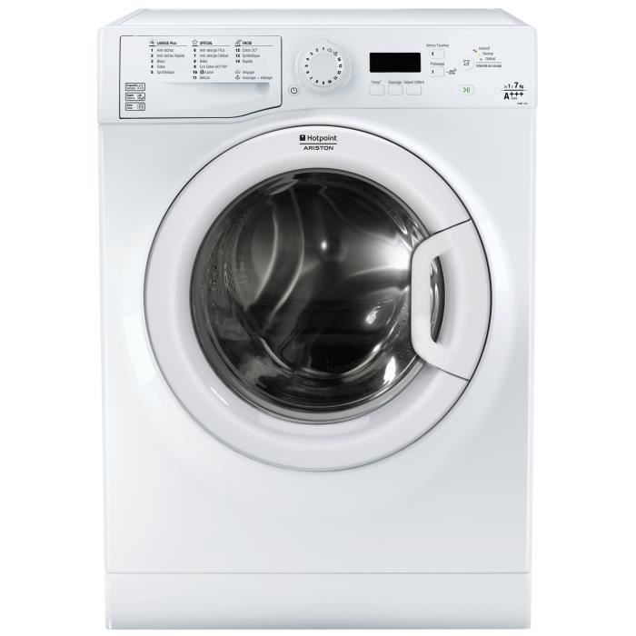 hotpoint efmf 743 fr lave linge frontal 7 kg 1400 tours a moteur. Black Bedroom Furniture Sets. Home Design Ideas