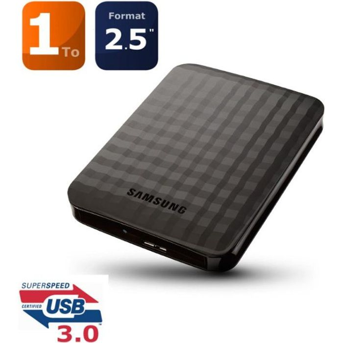 samsung disque dur m3 1to usb3 0 achat vente disque. Black Bedroom Furniture Sets. Home Design Ideas