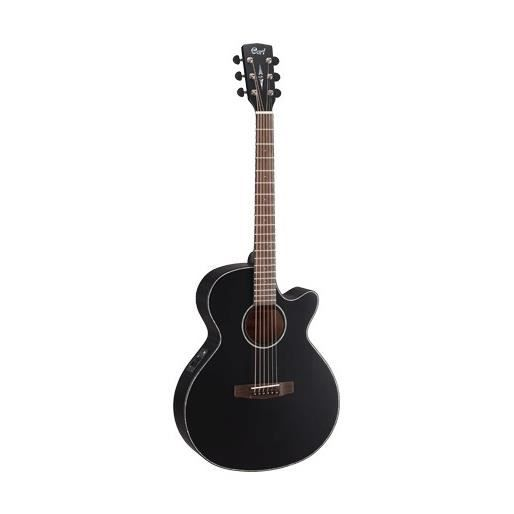 cort sfx e guitare acoustique black satin pas cher achat. Black Bedroom Furniture Sets. Home Design Ideas