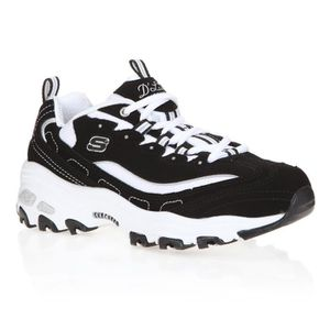 BASKET SKECHERS Baskets D'Lites Biggest Fan - Femme - Noi