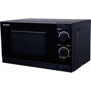 MICRO-ONDES SHARP R-200BKW Micro ondes monofonction noir - 20