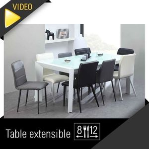 Table Extensible 12 Personnes Achat Vente Table