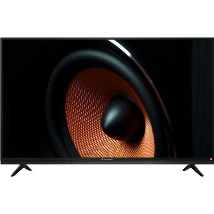 Continental Edison Tv Led Hd 80cm 32 Avec Barre De Son Jbl Integree 3 X Hdmi 2 X Usb