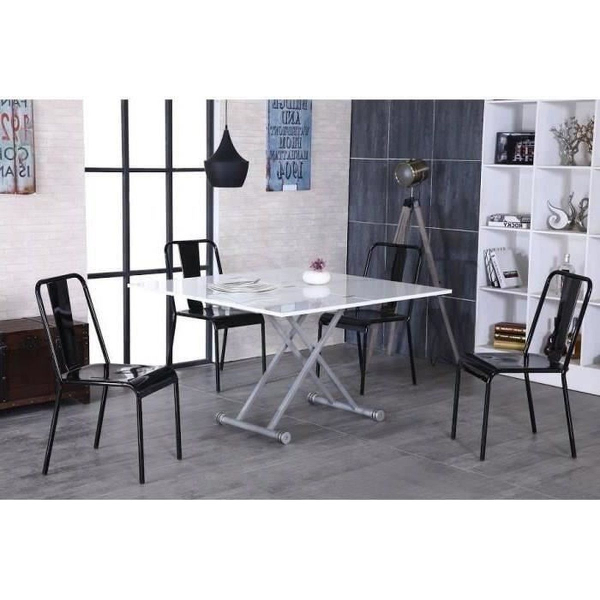 Table basse transformable en table a manger - Table basse transformable en table haute ...