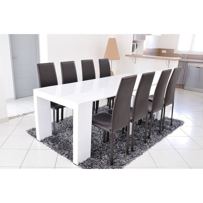 Object moved for Table blanche extensible