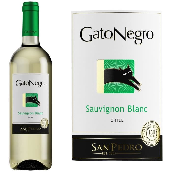 VIN BLANC Chili: Gato Negro blanc x1