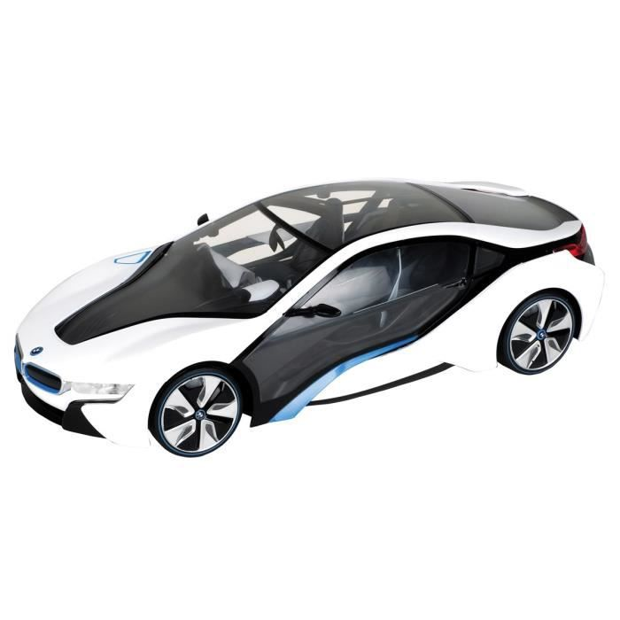 mondo voiture t l command e bmw i8 1 18 blanche achat vente voiture camion cdiscount. Black Bedroom Furniture Sets. Home Design Ideas