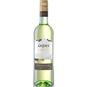 VIN BLANC ANDES Chardonnay Vin du Chili - Blanc - 75 cl