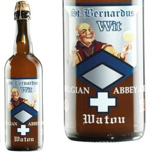 BIÈRE ST Bernardus  blanche 75cl 5.5°