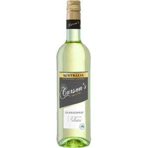 VIN BLANC CARSON'S Chardonnay Vin d'Australie - Blanc - 75 c