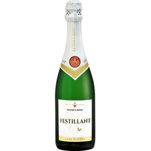 Apéritif sans alcool Festillant Blanc - Sans alcool - 75cl