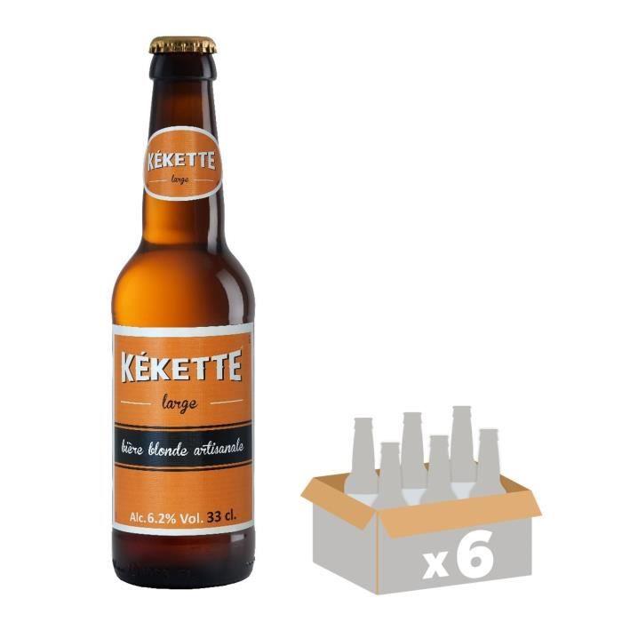 BIÈRE Kekette Bière Blonde 0,33 L x 6