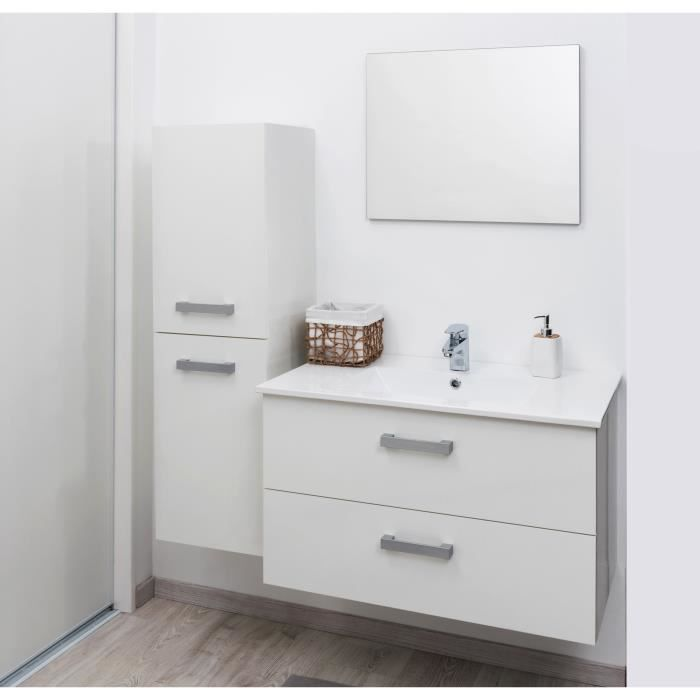 syva colonne de salle de bain 35 cm blanc achat. Black Bedroom Furniture Sets. Home Design Ideas