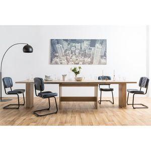 TABLE À MANGER SEULE ANCONA Table à manger extensible - 8-12 personnes
