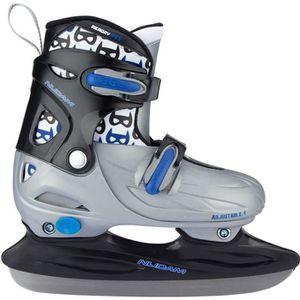 PATIN À GLACE NIJDAM Patins Hockey sur glace à chausson rigide -