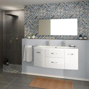 Ensemble meuble salle de bain Contemporain - Achat / Vente ...