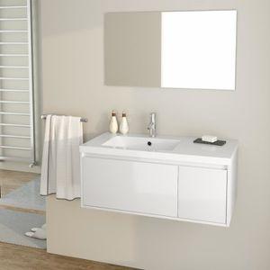 SALLE DE BAIN COMPLETE GIRONA Ensemble meubles de salle de bain simple va